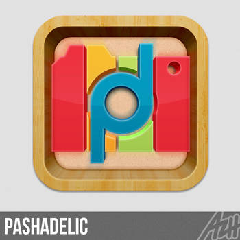 Pashadelic Icon by azhvectorproject