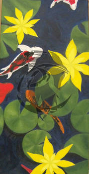 Oil Paint Koi
