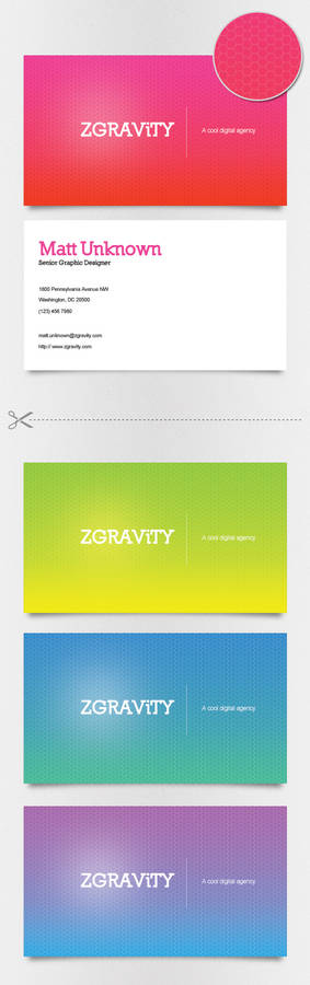 Neon Hive Business Cards