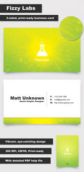 Fizzy Labs Business Card