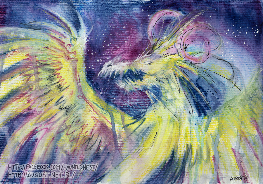 Astral Dragon by AugustAnna