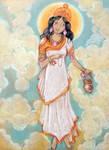 Shree Brahmacharini Devi. Navaratri. Day 2. by Jeshta