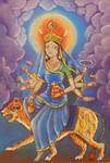 Kushmanda Devi. Navaratri. Day 4. by Jeshta