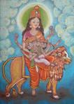 Skandmata. Navaratri. Day 5. by Jeshta