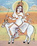 Mahagauri. Navaratri. Day 8. by Jeshta