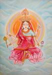 Siddhidatri. Navaratri. Day 9. by Jeshta