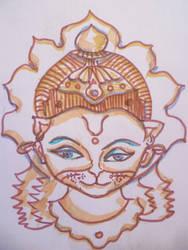 Hanuman by Jeshta