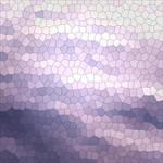 Mosaic - waves. Abstract violet geometri