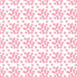 Seamless pink pattern with hearts