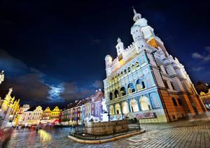 Colorful Main Square by CaveCanem42