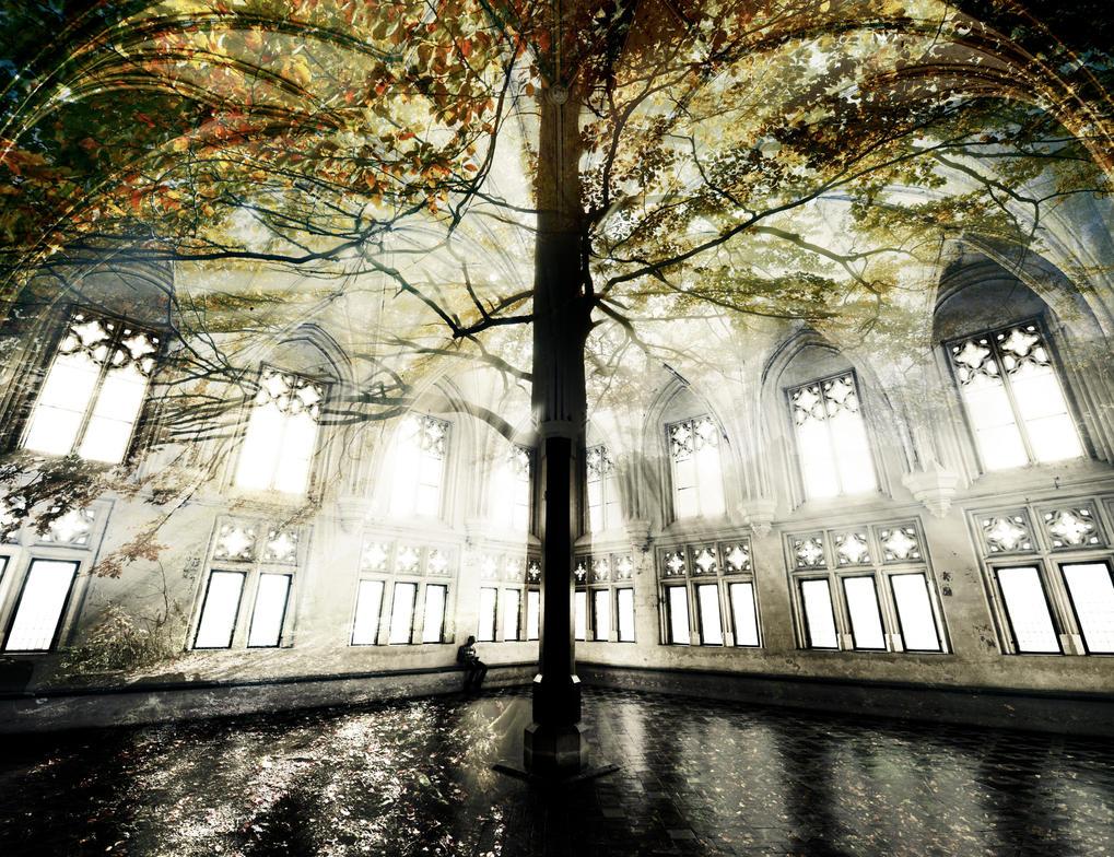 Autumn Refectory by CaveCanem42