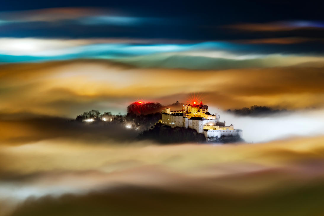 fortress in the sky II by CaveCanem42