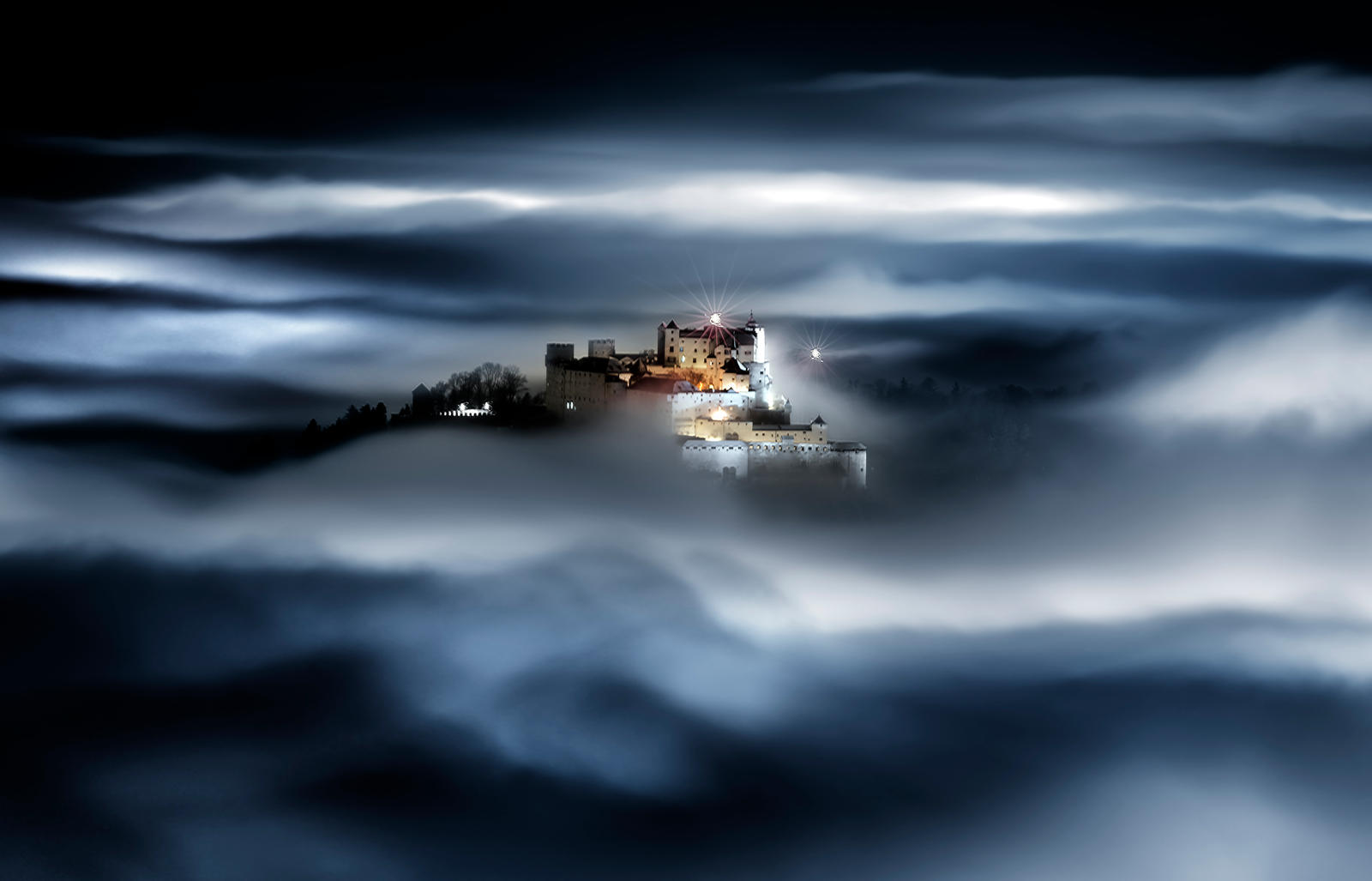 Castle in the Sky by CaveCanem42