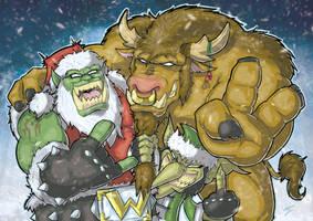 Horde Christmas by Henderzon