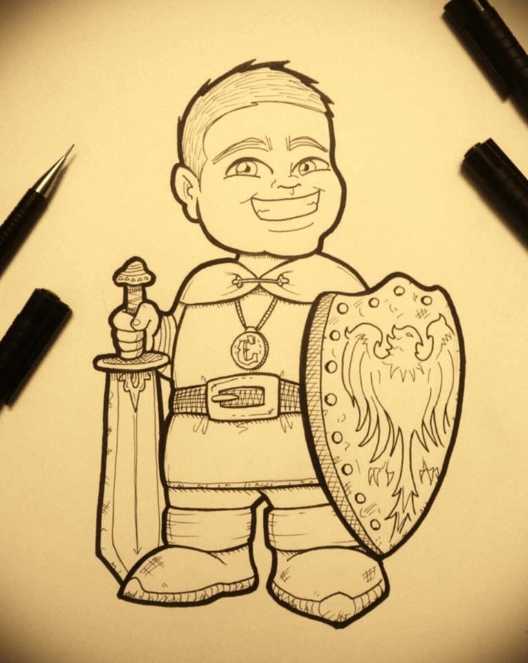 Emi the Little Warrior by Henderzon