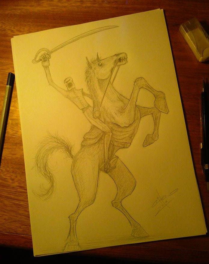 El Procer sketch by Henderzon