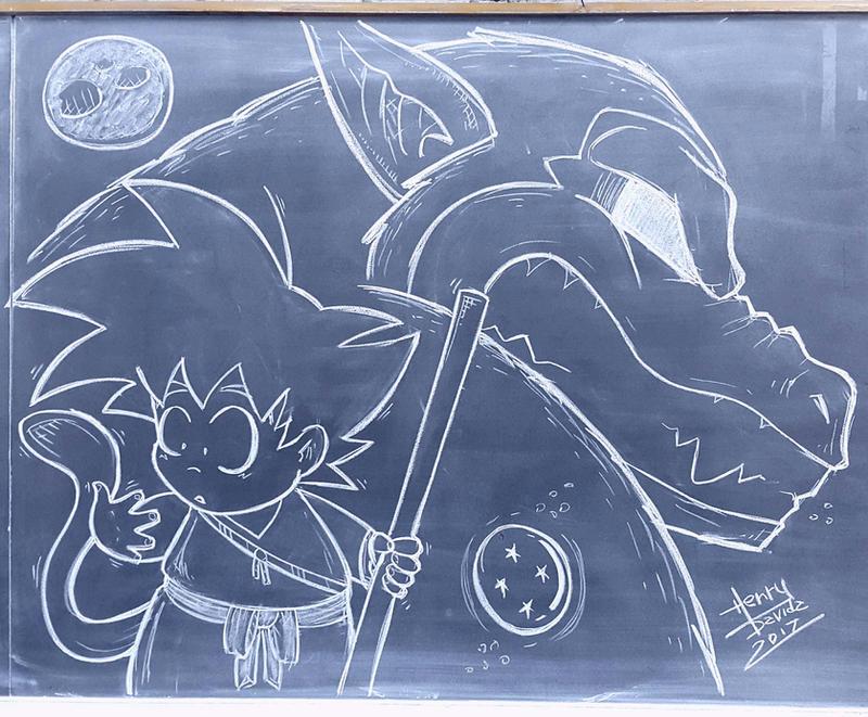 Happy Day Goku by Henderzon