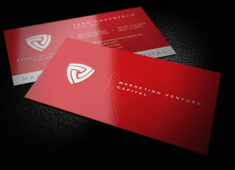 Market Venture Capital Business Card by exgeeinteractive on DeviantArt