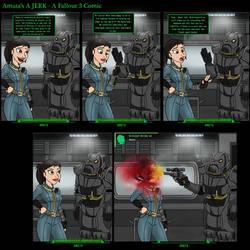 Fallout 3 - Amata's a Jerk
