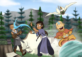 Avatar: Setting up Camp by 49ersrule07