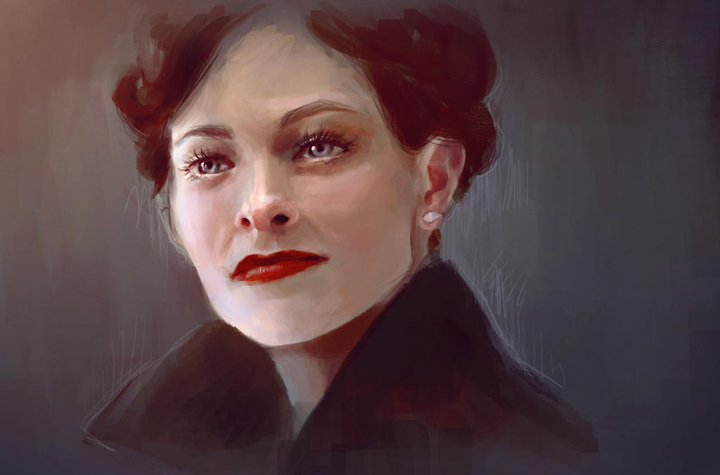 That woman by Grethchen