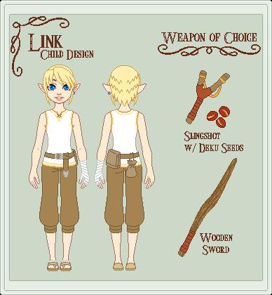 LoZ - Child Link by StargazerSammie
