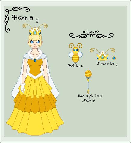 Ref SMB - Princess Honey by StargazerSammie