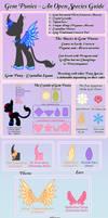 Open Species - Gem Ponies - Completely Revamped! by StargazerSammie