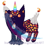 Custom - Candela, the Candle Mutant by StargazerSammie