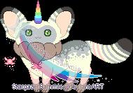 Custom - Mia the UniRemCat by StargazerSammie