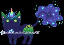 Custom - Cosmica the Stardust Mutant by StargazerSammie