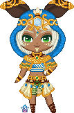 ChibiP: Senet the Seedling by StargazerSammie