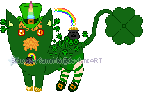 Custom - Shamus, the Leprechaun Mutant by StargazerSammie