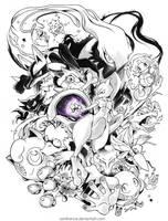Pokemon by sanitrance