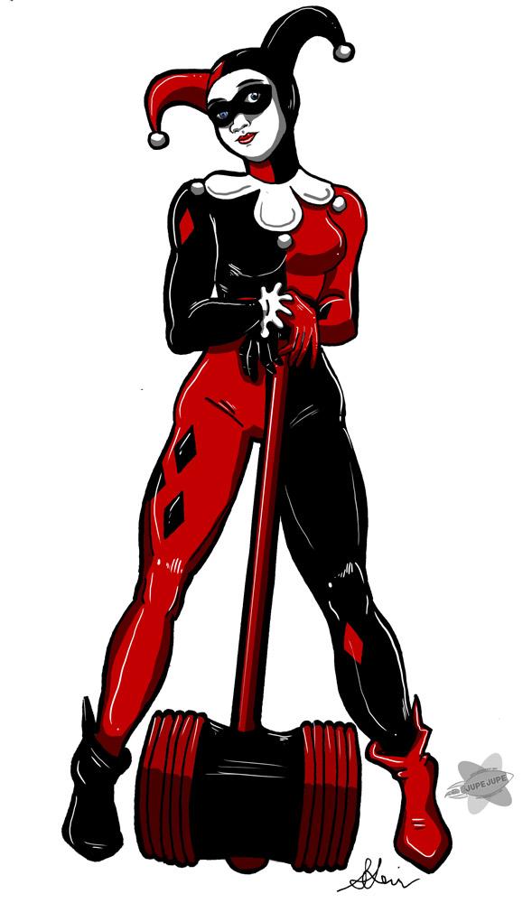 Warmup Drawing Harley Quinn Jupejuperocket Deviantart