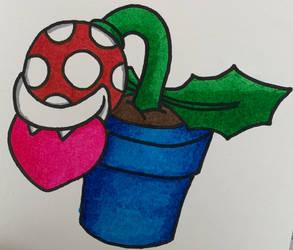 Piranha Plant Valentine 2/2