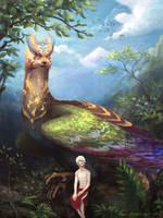 Zal and the Simurgh by Zae369