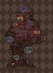 treehouse v2 by Zae369
