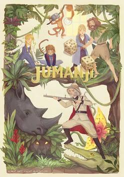 Postcard Print - Jumanji