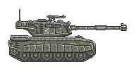 Pixel Tank by yamogogy