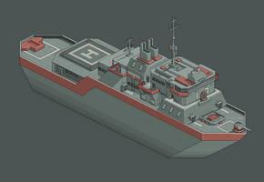 Pixel Destroyer by yamogogy
