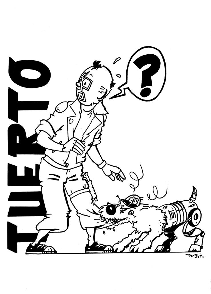 Teenage Tuerto by AtariPunk633