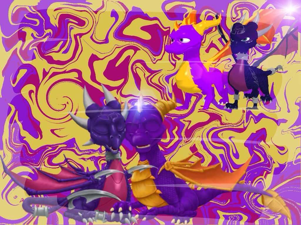 Spyro And Cynder Wallpaper By Cynder511