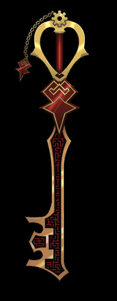 [Sistema de Combate de Watson] Commission_keyblade_custom_by_nicoy-d3a9uav