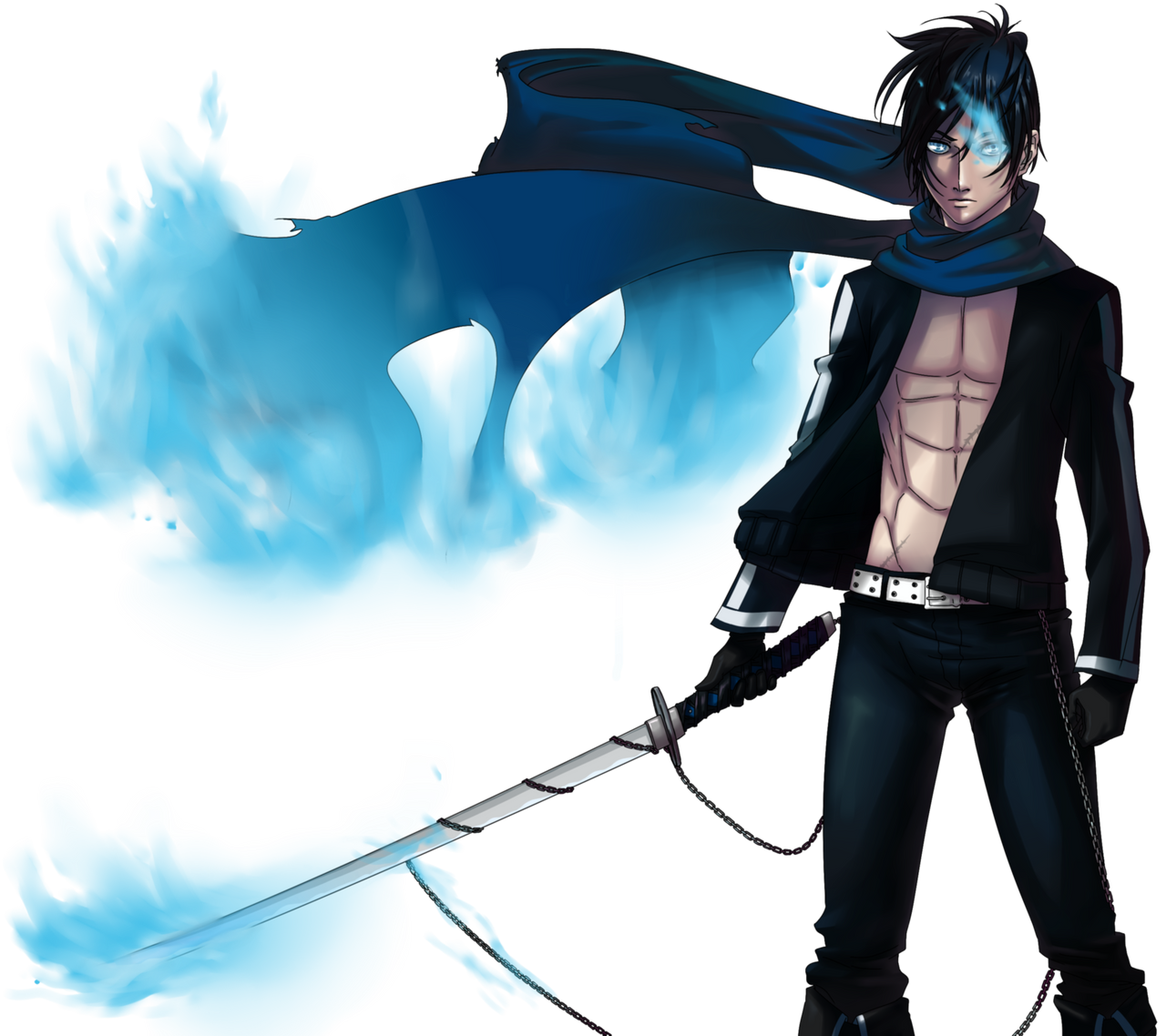 Black rock shooter ver male kaito 2 by nicoyguevarra on for Ver shooter online