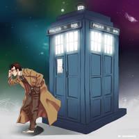 10th Doctor by nicoyguevarra