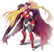 Megaman Zero 02 by nicoyguevarra