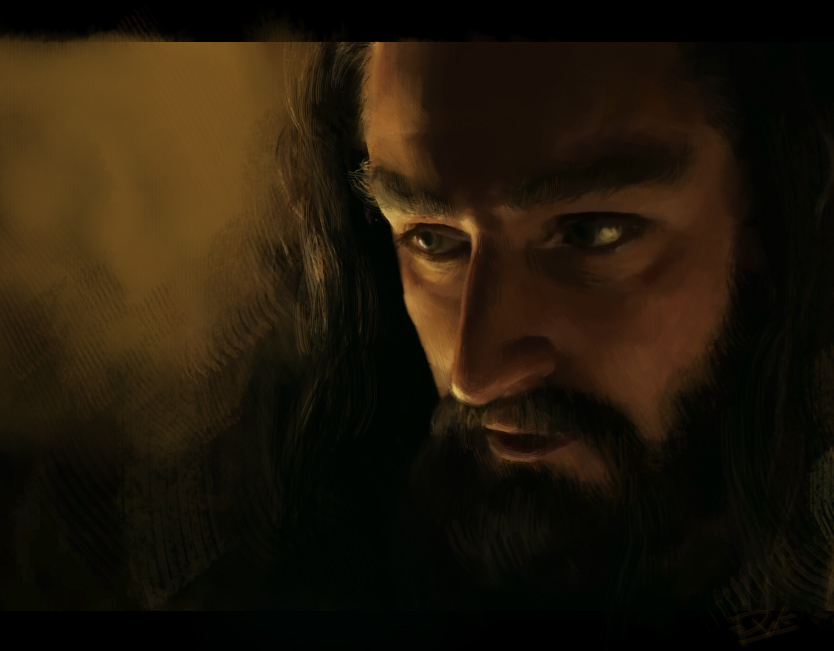 Thorin Oakenshield by Diyriko
