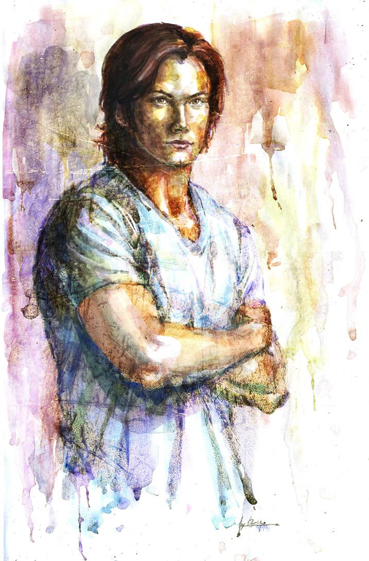 Sam in watercolor by Diyriko