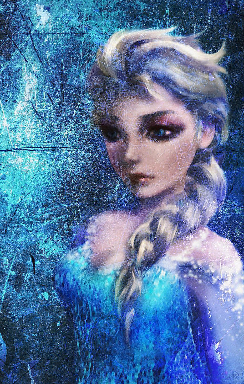 The Ice Maiden by Diyriko